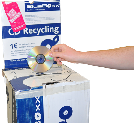 CDs/DVDs recyclen